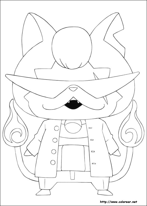 Dibujos para colorear de Yo-kai Watch