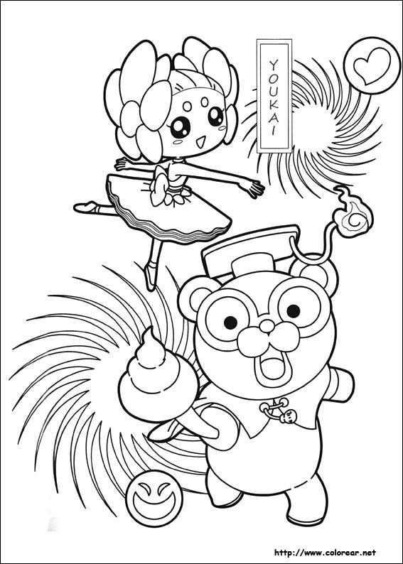 Dibujos Para Colorear De Yo Kai Watch