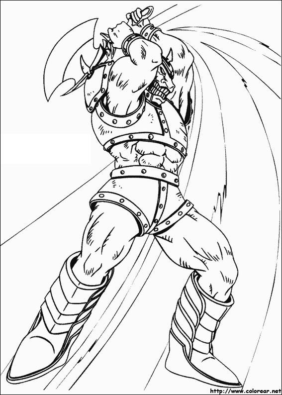 Dibujos Para Colorear De Yu Gi Oh