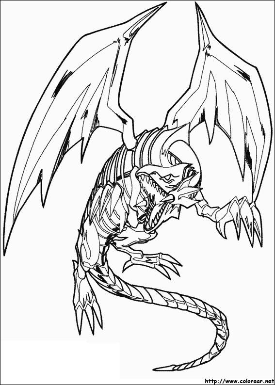 Dibujos para colorear de Yu-Gi-Oh