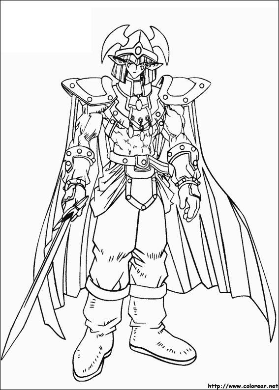 Dibujos de Yu-Gi-Oh para colorear en Colorear.net