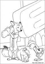Dibujos De Zootropolis Para Colorear En Colorearnet