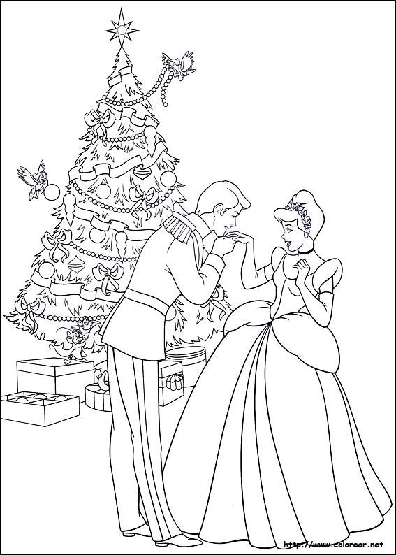 Dibujos Para Colorear De Amigos En Navidad