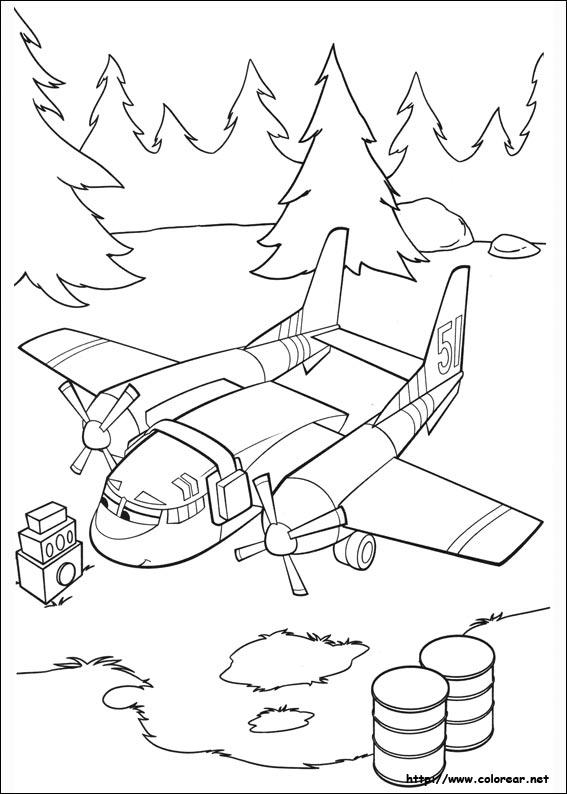 Dibujos Para Pintar Online Aviones Juegos De Aviones Para Colorear