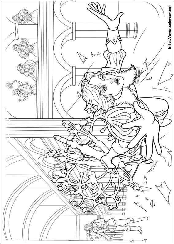 Kleurplaten Van Prinsessia Dibujos Para Colorear De Barbie Y Las Tres Mosqueteras