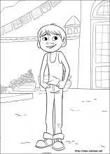 Dibujos De Coco Para Colorear En Colorear Net