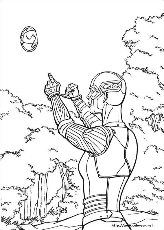 Guardian Coloring Pages