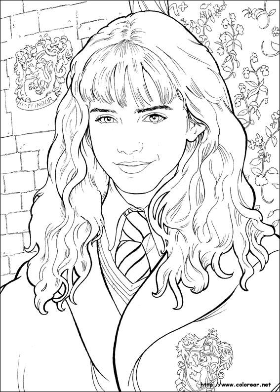 Dibujos Para Colorear De Harry Potter