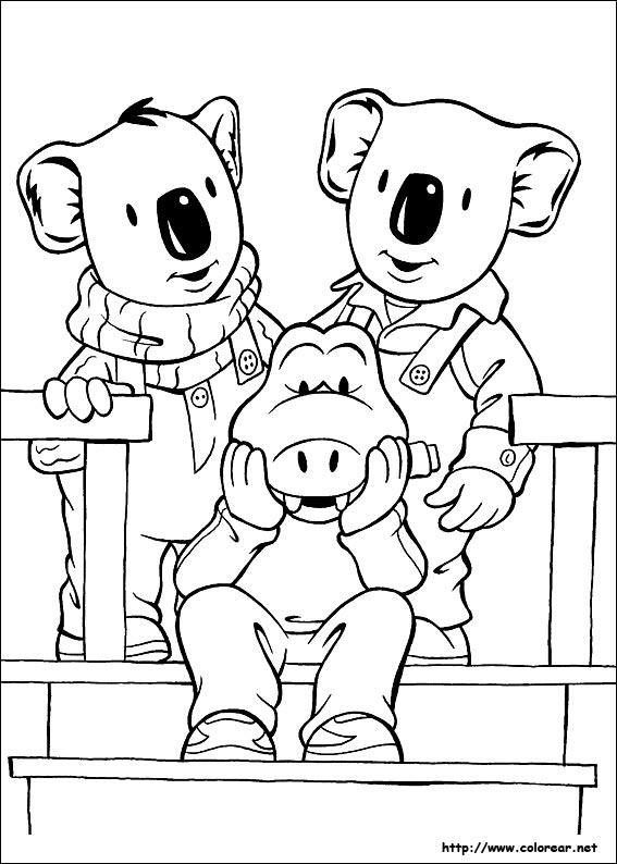 Dibujos Para Colorear De Los Hermanos Koala