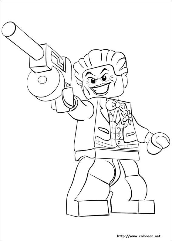 Ninjago Movie Kleurplaat Dibujos Para Colorear De Lego Batman