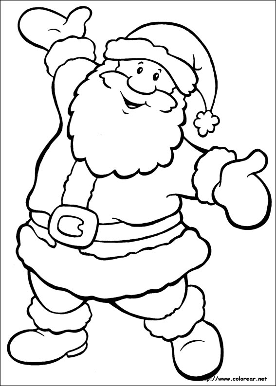 Dibujos Dibujos De Navidad.Dibujos Para Colorear De Navidad