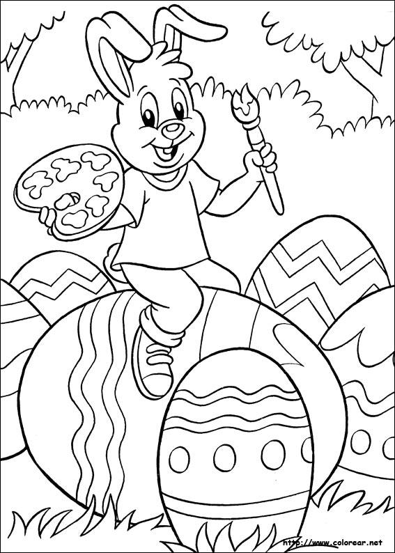 Dibujos para colorear de Pascuas