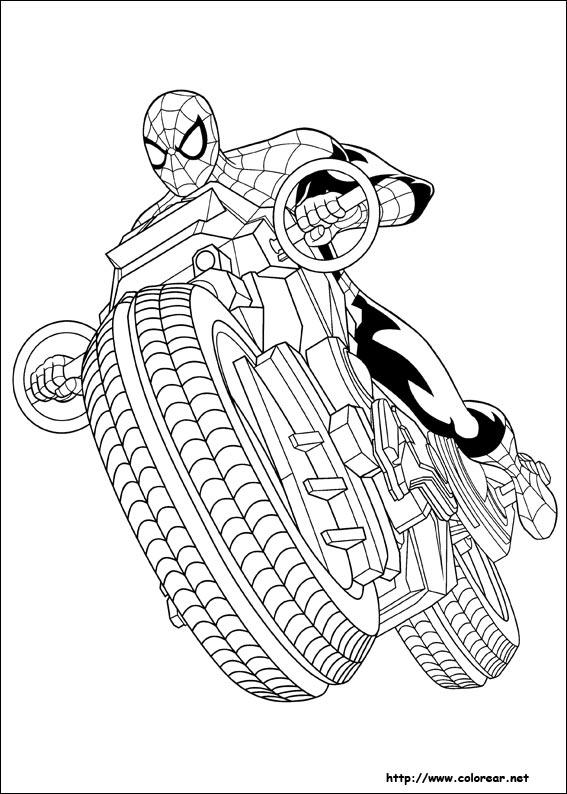 Dibujos Para Colorear De Ultimate Spider Man