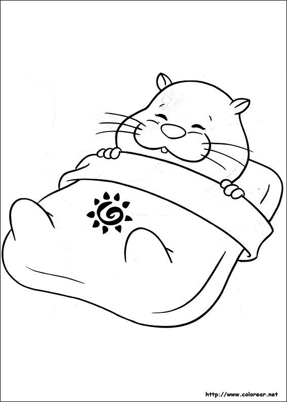 Dibujos Para Colorear De Zhu Zhu Pets
